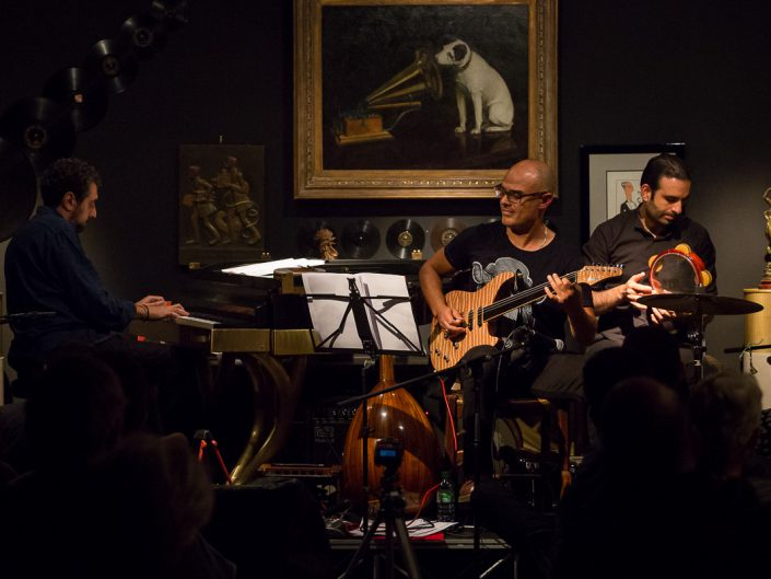 The Blossom Project au Phono Muséum à Paris - Elie Maalouf, Ihab Radwan & Yousef Zayed - 2015