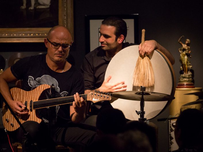 The Blossom Project au Phono Muséum à Paris - Ihab Radwan & Yousef Zayed - 2015