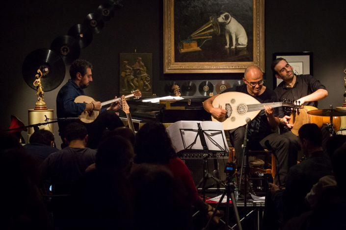 The Blossom Project au Phono Muséum à Paris - Elie Maalouf & Yousef Zayed - 2015