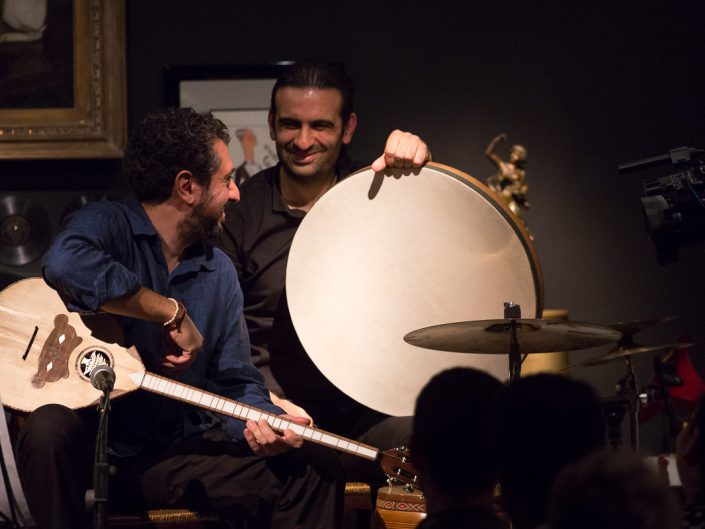 The Blossom Project au Phono Muséum à Paris - Elie Maalouf & Yousef Zayed - 2015
