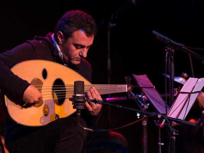 Ziad El Ahmadie - Concert Elie Maalouf - MJC Savigny sur Orge - 2013