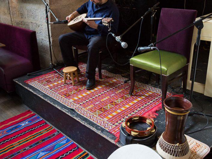 Elie Maalouf - Conférence sur le buzuq - Viaduc Café à Paris - 2016