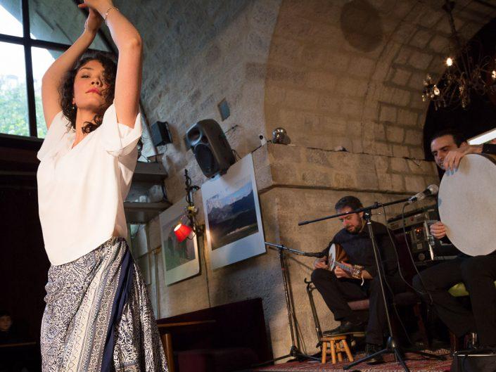 Mukaddas Mijit, Elie Maalouf & Yousef Zayed - Viaduc Café à Paris - 2016