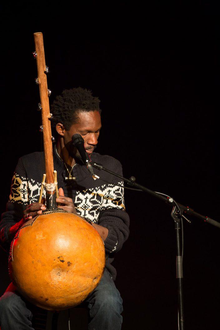 Pédro Kouyaté - Avant le concert