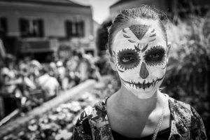 Maquillage Masque Mortuaire Mexicain