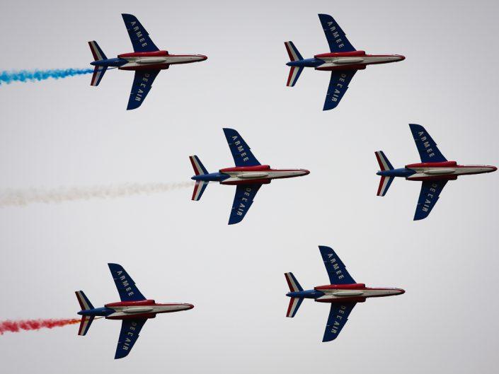 Alpha Jet - Patrouille de France - Meeting La Ferté Alais