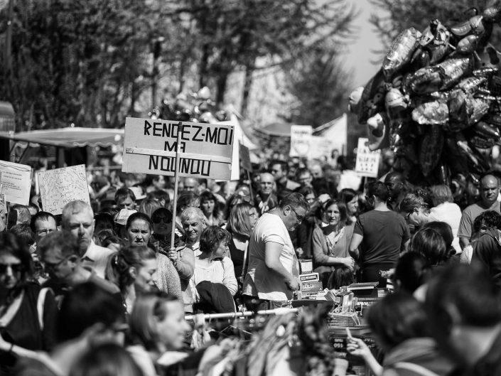 Manifestation à Savigny-sur-Orge