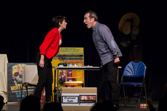 Un grand cri d'amour de Josiane Balasko par la troupe Les Mordus